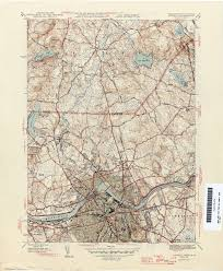 Indiana University Map Massachusetts Historical Topographic Maps Perry Castañeda Map