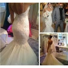 backless wedding dresses white wedding dresses mermaid wedding gown lace wedding gowns lace
