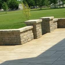nice concrete blocks for garden walls concrete blocks for garden