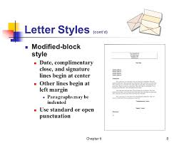 block style essays