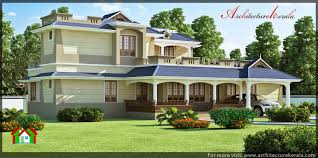 3500 sq ft house 3500 square feet traditional style house architecture kerala