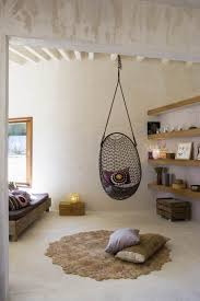 Swing Indoor Chair Captivating Grid Rattan Bedroom Hanging Chair Design