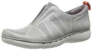 light grey dress shoes clarks un spirit women s casual shoe in light grey leather 4 d shoes