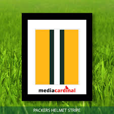 Green Bay Packer Flag Green Bay Packers Green Bay Packers Helmet Stripe Art Yellow