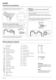 42 gw wiring diagram legend electrical connections connections