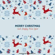vintage minimalist christmas card vector premium download