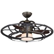 Ceiling Fan With Cage Light Alsace Caged Ceiling Fan By Savoy House At Lumens
