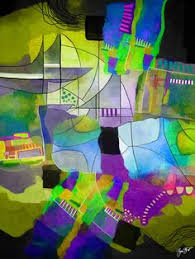 abstract mixed media art by gina startup abstrakt pinterest