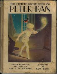picture story book peter pan 1931 msu surplus store