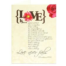 1 corinthians 13 wedding anniversary greeting card scriptural anniversary congratulations