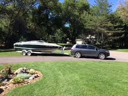 toyota highlander towing 2010 awd v6 boat towing ability at the r toyota nation forum