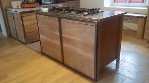 cuisine bois acier ok cuisine bois acier amiens 2378 18490559 modele soufflant