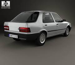peugeot cars 1985 peugeot 309 5 door 1985 3d model hum3d