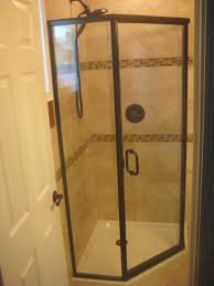 hinged glass shower door centec shower and tub door enclosures century bathworkscentury