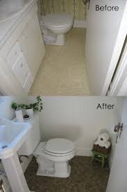 Ideas For Small Bathrooms Makeover Bathroom Fabulous Small Bathroom Makeover From Wallpaper To