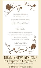 marriage invitation for friends vineyard wedding invitations the wedding specialiststhe wedding
