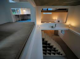 simple second floor with wooden floor and open space in t house