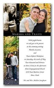 wedding invitations with pictures best 25 photo wedding invitations ideas on photo