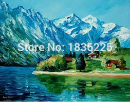 Mountain Landscape Paintings by Online Get Cheap Mountain Landscape Paintings Aliexpress Com