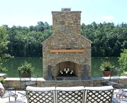outdoor stone fireplace outdoor fireplace pictures gettheebehind me