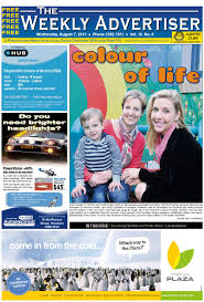 the weekly advertiser wednesday august 7 2013 edition by the