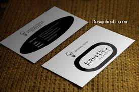 card psd business card template with bleed