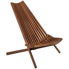 mid century teak folding chair for sale at 1stdibs intended for