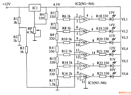 voltmeter ic wiring diagram components
