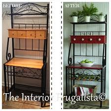Used Bakers Rack For Sale Best 25 Bakers Rack Ideas On Pinterest Bakers Rack Decorating