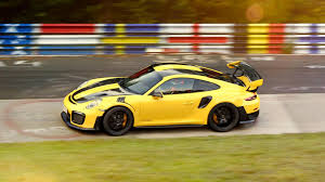 see porsche 911 gt2 rs set rwd nurburgring record with 6 47 3 lap
