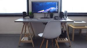 Apple Desk Computers by Minimal Ultrawide Apple Desk Tour 4k Youtube