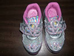 cinderella light up shoes size 7 8 girls shoes