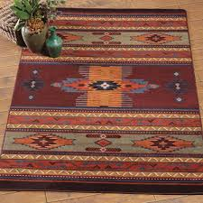 southwest rugs phoenix burgundy rug collection lone star western