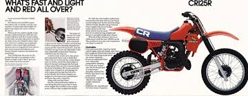 honda cr 125 racing cafè vintage brochures honda cr 125 r 1983 usa