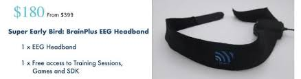 eeg headband brainplus smart eeg device for your better brain 2 by kridsakon