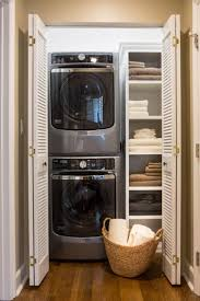 Pinterest Laundry Room Decor Best 25 Laundry Room Ideas Stacked Ideas On Pinterest Utility With
