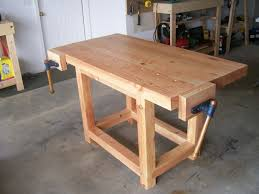 wood work bench treenovation