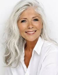 63 stunning long gray hairstyles ideas for women over 50 grey