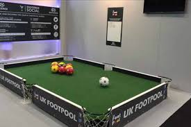 how big is a full size pool table sports bar where you can play ball while you booze on life size pool