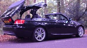 bmw 320i convertible youtube