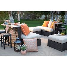 Agio 7 Piece Patio Dining Set - belham living kolea bay entertainment party bar set by agio