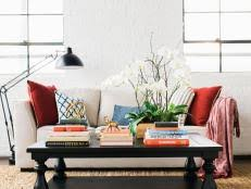 Living Room Table Decoration Strategies For Decorating Coffee Tables Hgtv