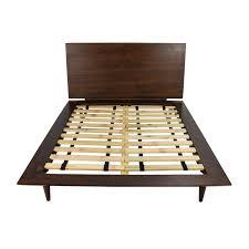 Wooden Beds Frames 86 Size Brown Wood Bed Frame Beds