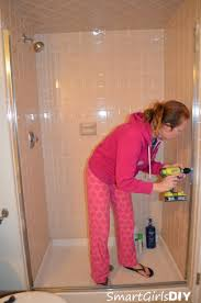 Removing Shower Doors Guest Bathroom 1 Bye Bye Shower Doors