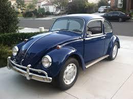 sold l633 vw blue u002767 beetle restoration beetles and volkswagen