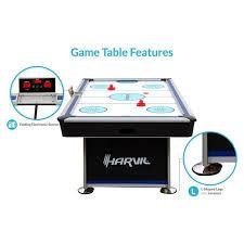 kids air hockey table furniture air hockey tables inspirational harvil 7 foot air hockey