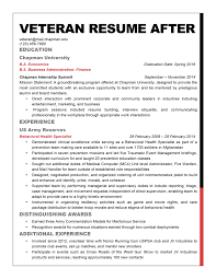 Resume Examples For Military To Civilian by Resume For Army Soldier
