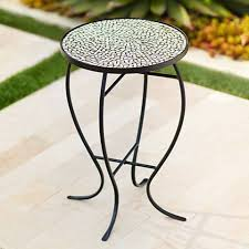 Mosaic Accent Table Zaltana Mosaic Outdoor Accent Table 2x593 Ls Plus