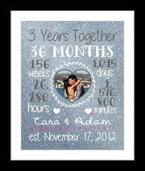 1 year anniversary ideas for him any or 3 year anniversary gift 3 year wedding anniversary gifts