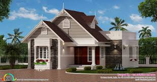 European Floor Plans Small European Style House Kerala Home Design And Floor Plans